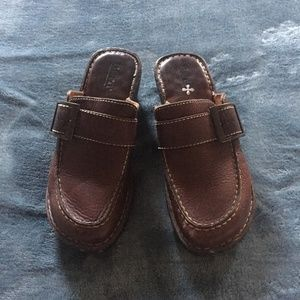 Born all leather loafers